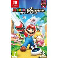 Sortie Jeux Nintendo Switch Mario + The Lapins Crétins Kingdom Battle Jeu Switch - Ubisoft