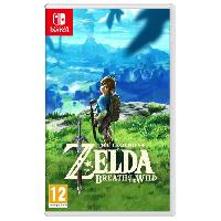 Sortie Jeux Nintendo Switch The Legend of Zelda : Breath of the Wild Jeu Switch - Nintendo