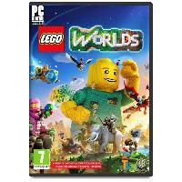 Sortie Jeux Pc LEGO Worlds Jeu PC - Warner Bros