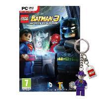 Sortie Jeux Pc Lego Batman 3 Au Dela de Gotham Jeu PC + Porte-cle