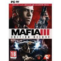 Sortie Jeux Pc Mafia III Deluxe Edition Jeu PC