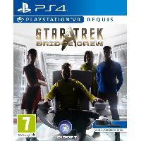 Sortie Jeux Playstation Vr Star Trek - Bridge Crew VR