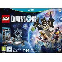 Sortie Jeux Wii U LEGO Dimensions - Pack de Demarrage Wii U