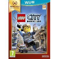 Sortie Jeux Wii U Lego City Undercover Select Jeu Wii U