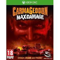 Sortie Jeux Xbox One Carmageddon Max Damage Jeu Xbox One