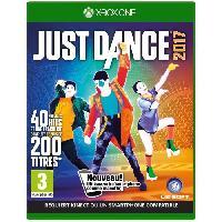 Sortie Jeux Xbox One Just Dance 2017 Jeu Xbox One