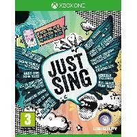 Sortie Jeux Xbox One Just Sing Jeu Xbox One