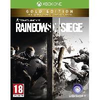 Sortie Jeux Xbox One Rainbow Six Siege Edition Gold Jeu Xbox One