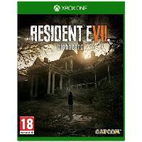 Sortie Jeux Xbox One Resident Evil 7 Biohazard Jeu Xbox One