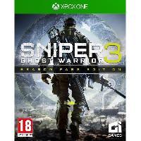 Sortie Jeux Xbox One Sniper Ghost Warrior 3 Season Pass Edition Jeu Xbox One