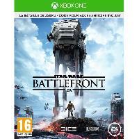 Sortie Jeux Xbox One Star Wars Battlefront Edition Limitee Jeu Xbox One