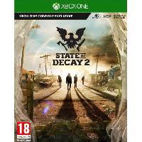 Sortie Jeux Xbox One State of Decay 2 Jeu Xbox One