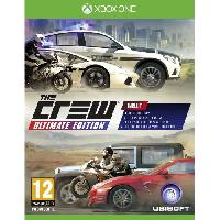 Sortie Jeux Xbox One The Crew Ultimate Greatest Hits Jeu Xbox One