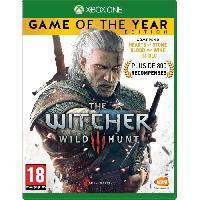 Sortie Jeux Xbox One The Witcher 3 - Wild Hunt Goty Edition Jeu Xbox One