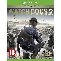 Sortie Jeux Xbox One Watch Dogs 2 Edition Gold Jeu Xbox One - Ubisoft