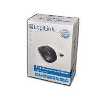 Souris Souris optique - sans fil - 3 boutons - 1200dpi - Mini - noire - LogiLink