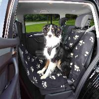 Special Animaux Couverture pour sieges de voiture - 0.65x1.45 m noir beige Trixie