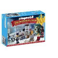 Special Noel PLAYMOBIL 9007 - Calendrier de l'Avent Policier