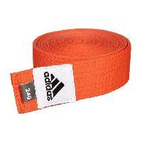 Sport De Combat - Arts Martiaux ADIDAS Accessoire Ceinture Club Orange - 240 cm