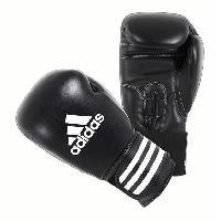 Sport De Combat - Arts Martiaux ADIDAS Gants de boxe en cuir - 12 oz