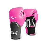 Sport De Combat - Arts Martiaux EVERLAST Gants de boxe Pro Style Elite - Avec velcro - Rose - 8 Oz - Wilson