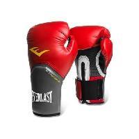 Sport De Combat - Arts Martiaux EVERLAST Gants de boxe Pro Style Elite - Mixte - Rouge - 8 Oz - Wilson