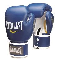 Sport De Combat - Arts Martiaux EVERLAST Gants de boxe Thai - Bleu - 8 Oz - Wilson