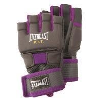 Sport De Combat - Arts Martiaux EVERLAST Gants d'entrainement Cardio - Femme - Violet - Taille S/M - Wilson
