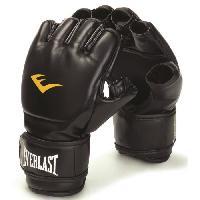 Sport De Combat - Arts Martiaux EVERLAST Gants d'entrainement de boxe - Noir - Taille L/XL - Wilson