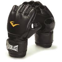Sport De Combat - Arts Martiaux EVERLAST Gants d'entrainement de boxe - Noir - Taille S/M - Wilson
