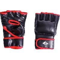 Sport De Combat - Arts Martiaux Gants de boxe PU - Noir et rouge