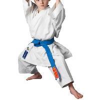 Sport De Combat - Arts Martiaux HAYASHI Kimono de karaté Reikon officiel WKF - 150 cm - Blanc