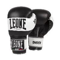 Sport De Combat - Arts Martiaux LEONE Gants de boxe Shock - Homme - Noir Aucune