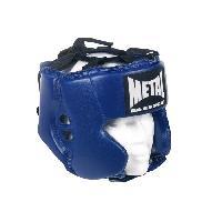Sport De Combat - Arts Martiaux METAL BOXE Casque Entraînement - Enfant - Bleu