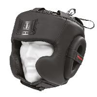 Sport De Combat - Arts Martiaux METAL BOXE Casque Semi Intégral Black Light