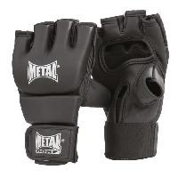 Sport De Combat - Arts Martiaux METAL BOXE Gant Combat Libre Senior Black Light