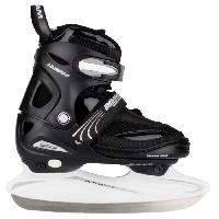 Sport De Glace NIJDAM JUNIOR Patins hockey sur glace - Enfant Mixte - Noir - 38/41