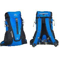 Sport De Montagne ABBEY Sac a dos de randonnee - Avec systeme d'aeration du dos - 100 polyamide hydrofuge - 35 L - Bleu