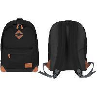 Sport De Montagne ABBEY Sac a dos de taille moyenne - 100% Polyester 300T - 42 x 30 x 16 cm - Capacité : 20 L - Noir