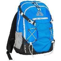 Sport De Montagne ABBEY Sac a dos d'extérieur - 100% Polyester ripstop. revetement PU 800mm - 35 L - Bleu