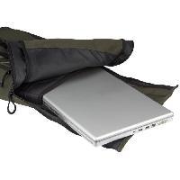 Sport De Montagne ABBEY Sac a dos outdoor - 18 L - Polyester 300D - Revetement hydrofuge 800mm PU - 64 x 29 x 11 cm - Vert Kaki