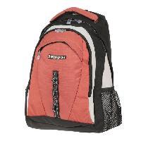 Sport De Montagne ASPENSPORT Backpack Sevilla - Sac a dos 30 Litres Noir et Rouge