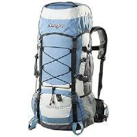 Sport De Montagne ASPENSPORT Backpack Trekking - Sac a dos 65 Litres Bleu et Blanc