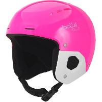 Sport De Montagne BOLLE Casque de ski Quickster Shiny - Rose et noir - 49-52 cm