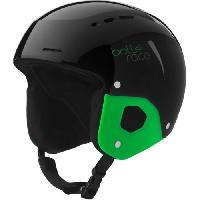 Sport De Montagne BOLLE Casque de ski enfant Quickster Shiny - Mixte - Noir et vert - 52-55 cm