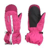 Sport De Montagne CAIRN Moufles de ski Pixies - Enfant fille - Rose - 4 ans