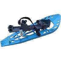 Sport De Montagne MORPHO TRIMO Ultra Light Basic. Paire de Raquettes a neige. Bleu Clair/Gris- Medium