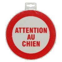 Sport De Tir - Chasse Panneau Attention Au Chien