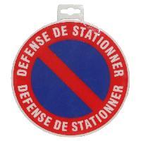 Sport De Tir - Chasse Panneau Defense de Stationner