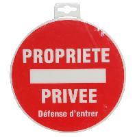Sport De Tir - Chasse Panneau Propriete Privee Defense d'Entrer
